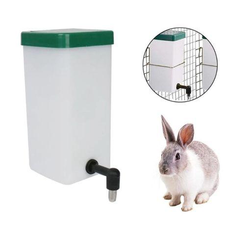 Poidła kropelkowe dla królików 1l - zestaw 10 szt