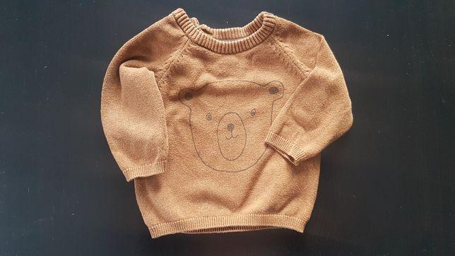 Sweterek chłopięcy H&M roz 68