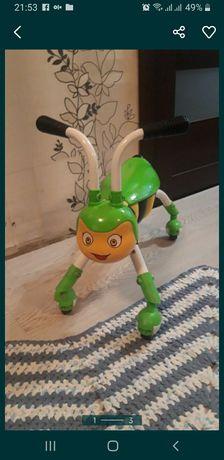 Велобег-толокар кузнечик