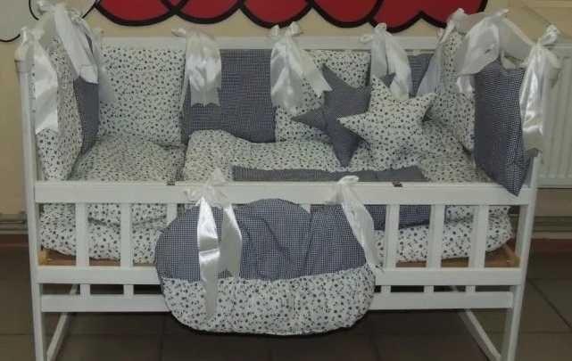Комплект детского постельного белья в кроватку Якорь Bonna