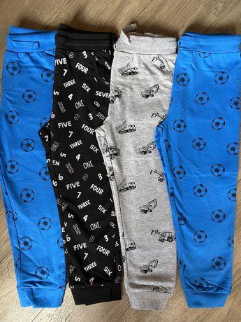 Штаны тонкие, шорты, футболки 98-140