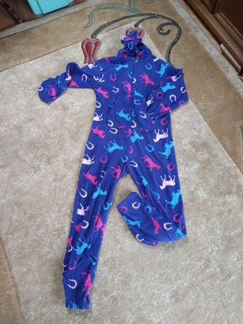 Polarowa piżama pajac