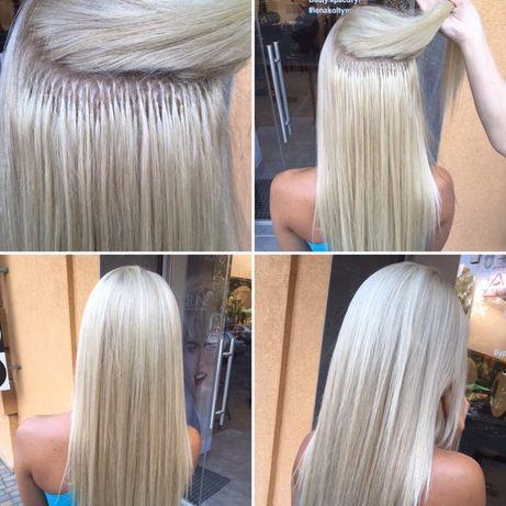 Акция!!! Коррекция, наращивание волос 500 грн