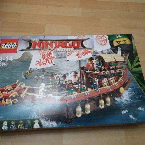 LEGO Ninjago Летающий корабль Мастера Ву (70618) новый, в пломбах!