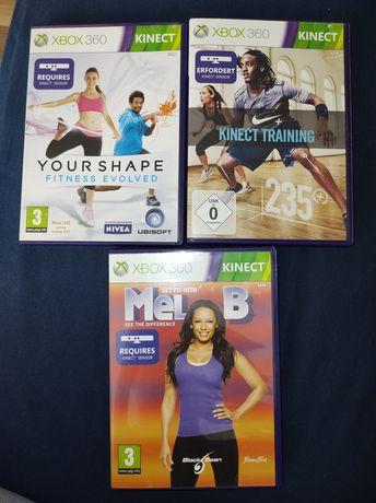 Mel B, kinekt training I your shape Xbox 360