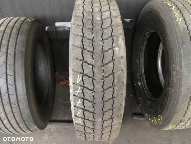 315/80R22.5 Dunlop opona ciężarowa Napędowa 8.5 mm opona uzywana ciezarowa