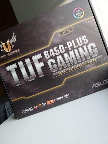 Материнская плата Asus TUF B450-PLUS GAMING (sAM4, AMD B450)