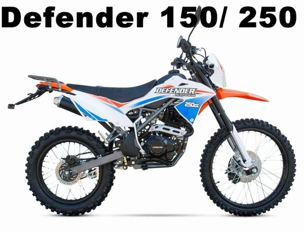 Cross Cross Defender 250 150 Dirt Bike Serwis Raty Gwarancja Transport
