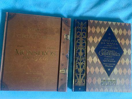 Livros Monstros Fantásticos Bastidores ( Harry Potter)