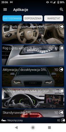 Kodowanie funkcji Audi Vw Skoda Seat , usuwanie błędów