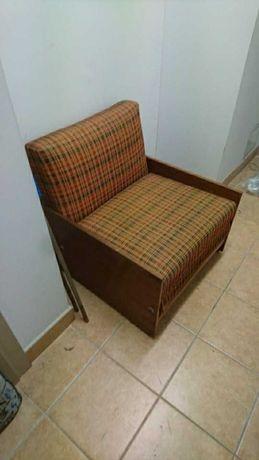 Amerykanka,łóżko składane 75cm x 80 cm po złożeniu