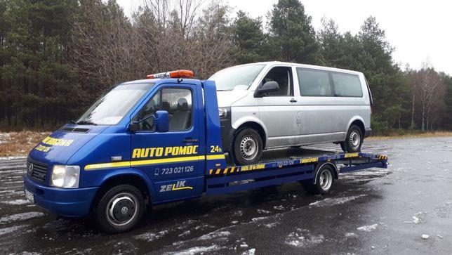 Pomoc Drogowa Laweta Autolaweta Transport Aut maszyn Rolniczych