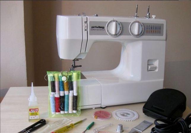 Швейная машинка privileg super nutzstich германия