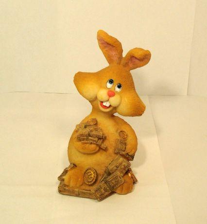 сувенир подарок статуэтка , денежный заяц
