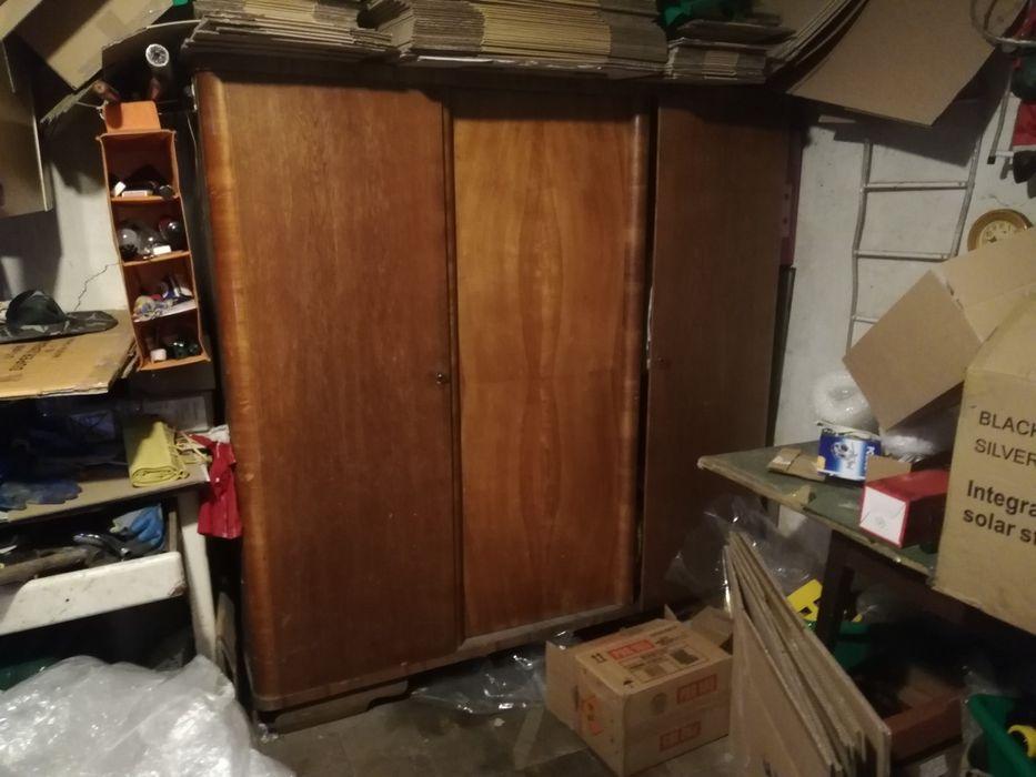 Trzydrzwiowa szafa, retro, drewniana vintage, zabytkowa antyk Gliwice - image 1