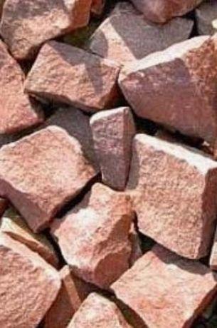 Камни для бани, кварцит малиновый