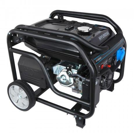 Генератор бензиновый Hyundai HHY 7050F (5.5 кВт) - Скидка ( до 10%)