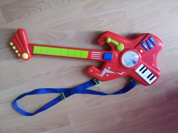 Gitara grająca interaktywna dla dzieci