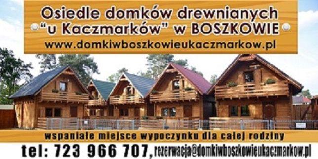 Domki drewniane Boszkowo u Kaczmarków