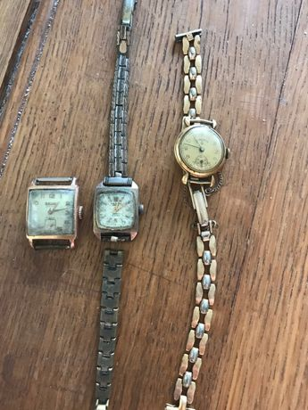 Relógios antigos anos 40