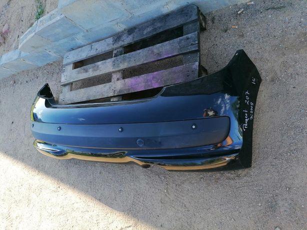 Zderzak tył Peugeot 207 08r PDC