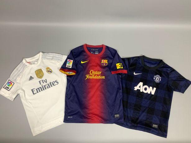 Футбольная футболка Real Madrid Barcelona Manchester United Детские