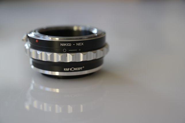 adapter K&F NIKON na NEX