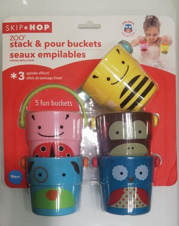 Ведерки Skip Hop набор игрушки для весёлого купания Скип Хоп