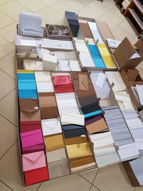 Koperty ozdobne różne formaty i kolory