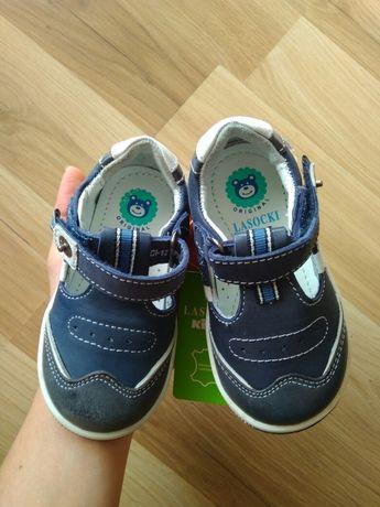 Nowe skórzane buciki Lasocki kids skórzane trzewiki na jesień buty ccc
