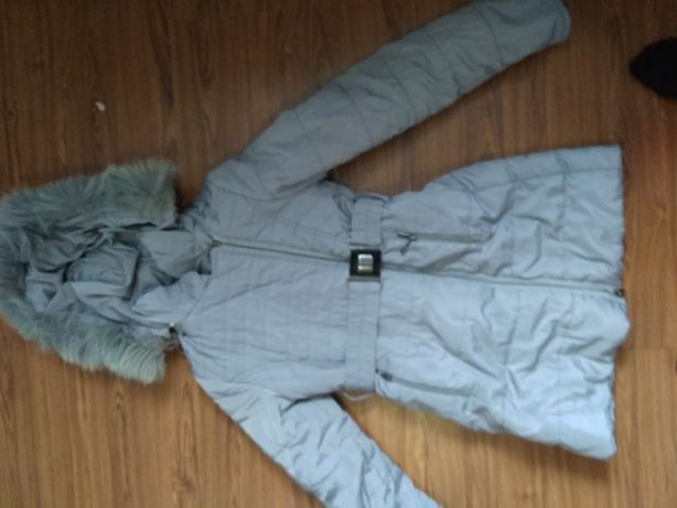 Зимняя куртка на девочку 9-11 лет