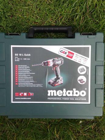Walizka do wkrętarki METABO BS 18 L Quick 18V