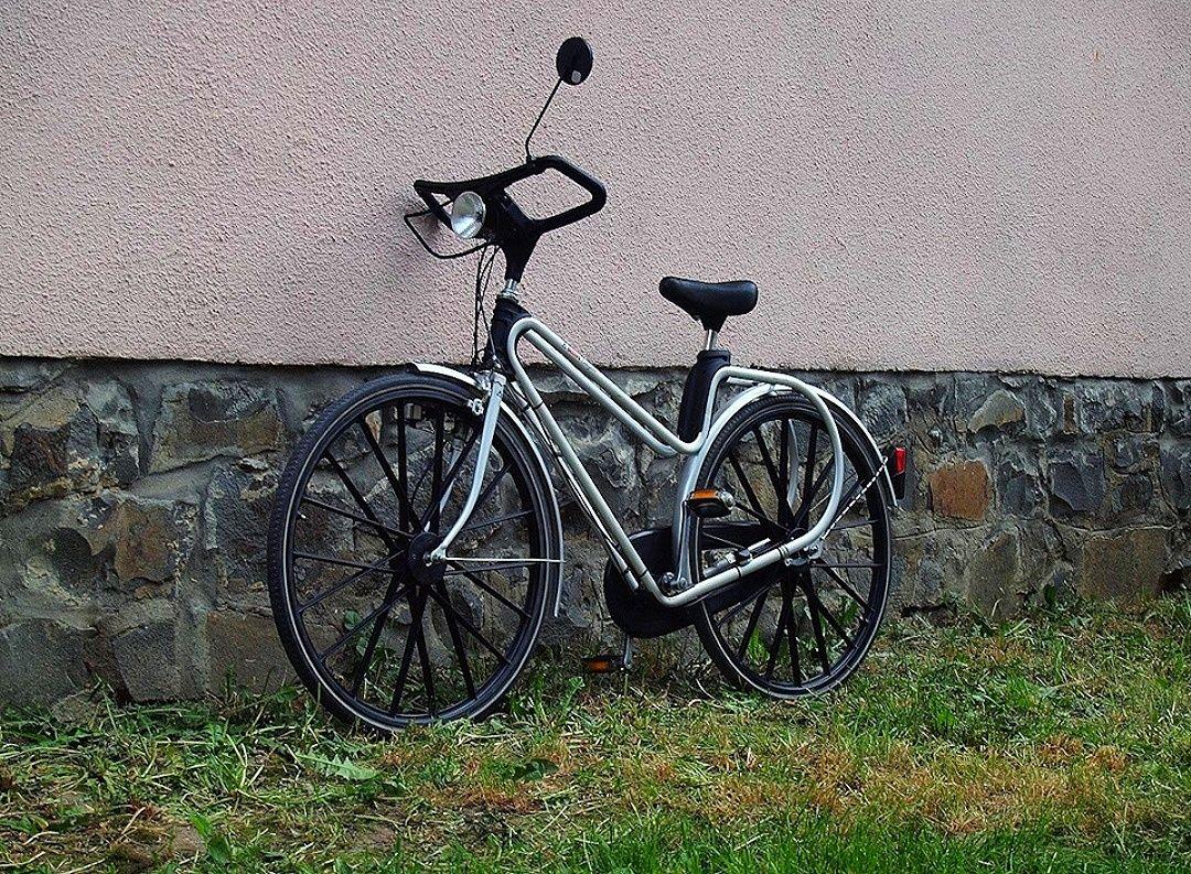 Ретро коллекционный велосипед