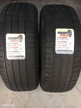 2 pneus semi novos Michelin 235/60/18 - Oferta dos portes