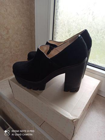 Мешти, замша, туфли