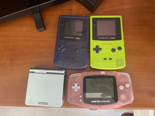 Gameboy/jogos/acessorios…