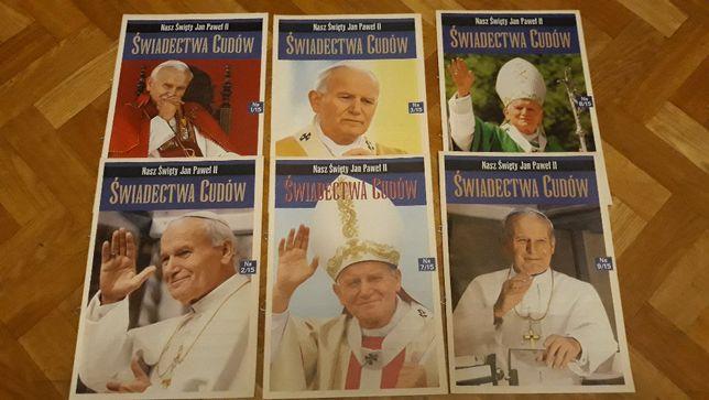 Nasz Święty Jan Paweł II Świadectwa cudów