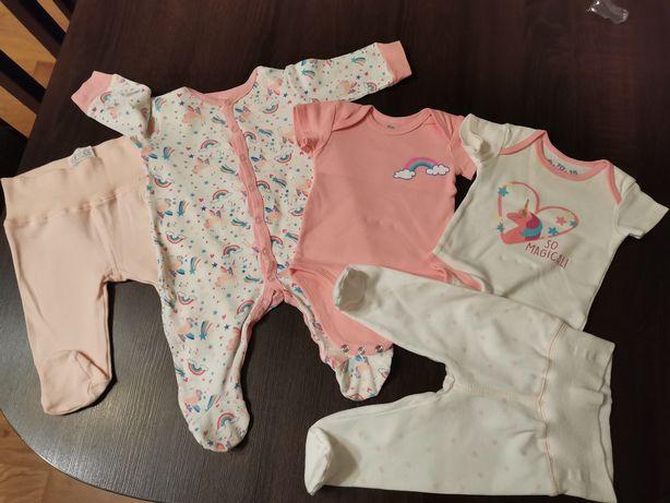 Ubranka niemowlęce 56-62