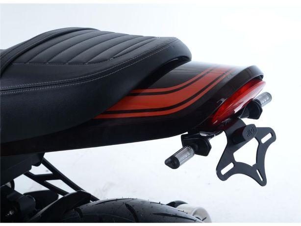 Porta Matricula R&G com luz Matricula Kawasaki Z900RS