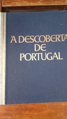 """Livro """"Á Descoberta de Portugal"""" Edição de 1982"""