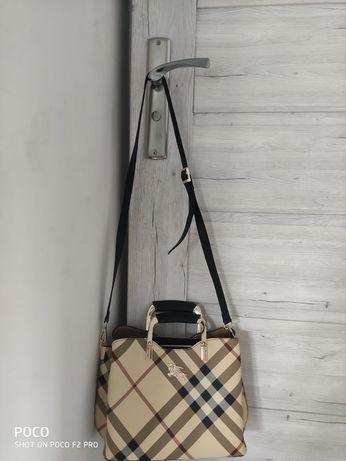 Torebka Burberry London fashion damska oryginalna