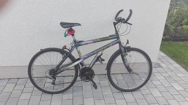 rower górski. przerzutki shimano