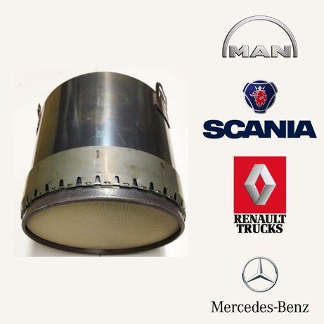 Regeneracja DPF Scania MAN Volvo Iveco Euro 6 Filtr cząstek stałych