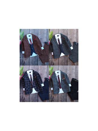 Нарядный,праздничный костюм на утренник в садик с пиджаком на 1-12 р