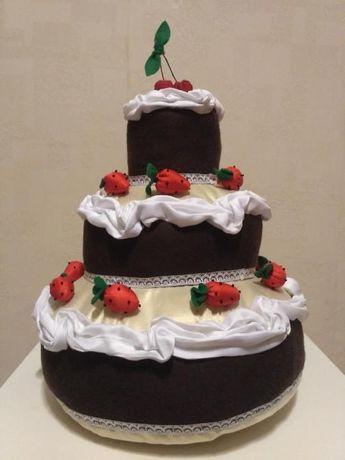 Торт интерьерный hand made(ручная работа)