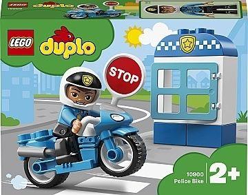 lego duplo, полицейский мотоцикл. Конструктор. Оригинал.
