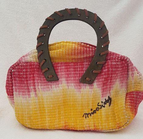 Miss Sixty Kolorowy koszyczek żółto-czerwony cieniowany