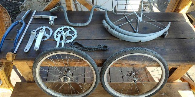 руль высокий на складной велосипед