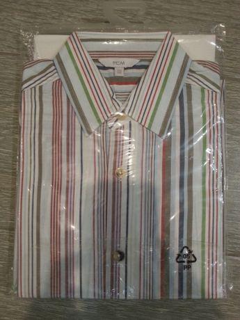 Новая рубашка от немецкого бренда для мальчика школьника 8-10 лет