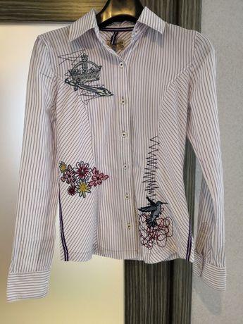 Рубашка, сорочка, блуза с вышивкой LTB